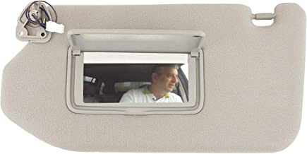 Right Side Sun Visor Shield Cover With Mirror For Fiat Panda 2003-2012 735362757