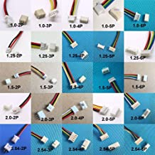 10 sets 1.0mm 1.25mm 1.5mm 2.0 2.54mm 2PIN /3/4/5/6/12P Pin Male & Female PCB Connector SH JST ZH PH XH 2 Pin - (Color: 5Pin, Package: JST)