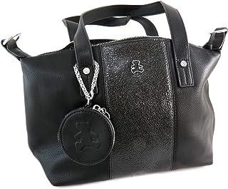 23b9731e3d Lulu Castagnette [Q9154 - Sac créateur noir (+porte-monnaie) - 32x24x16