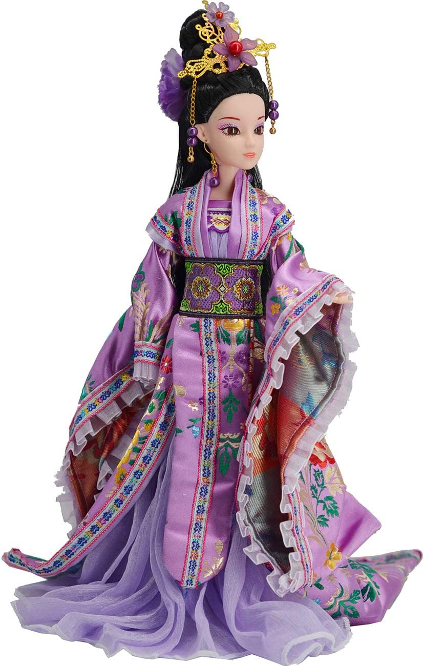 REIRQIE High quality Doll Free shipping on posting reviews Oriental Decor with Dress Beautiful Chinese