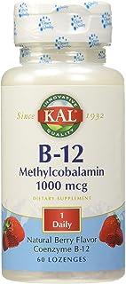 KAL Metilcobalamina Vitamina B12 1000 mcg. 60 Comprimidos