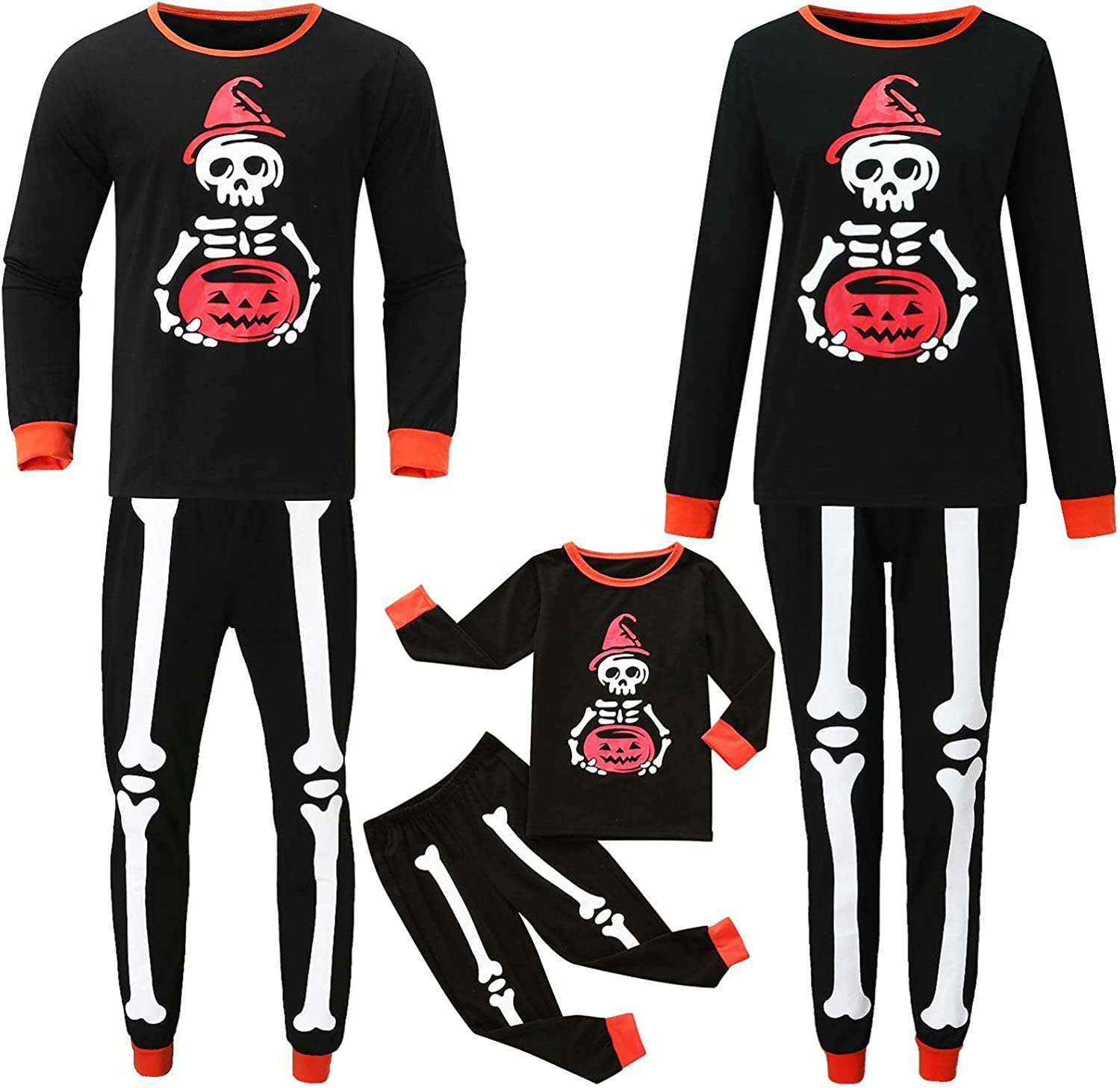 NIHOND Matching Family OFFicial shop Year-end annual account Pajamas Sets 2 PJ's Halloween Pie Holiday