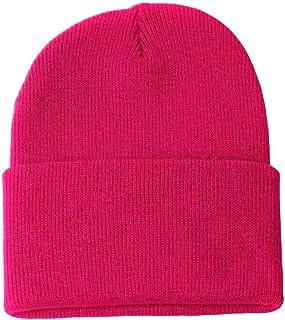 TOP HEADWEAR TopHeadwear Long Cuff Beanie, Hot Pink