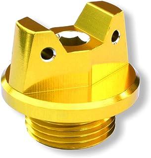 MotoSculpt Gold Oil Fill Cap Plug for Suzuki GSX-R GSXR 600 750 1000 1100 1300 SV650 SV1000 TL1000