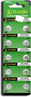AG1 364A LR60 SR60 LR621 Button Cell Batteries [10-Pack]