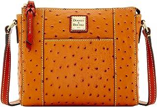 Ostrich Lexington Crossbody Shoulder Bag