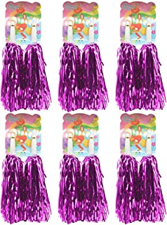 Creatiee 1 Dozen Premium Cheerleading Pom Poms, 12Pcs Hand Flowers Cheerleader Pompoms for Sports Cheers Ball Dance Fancy ...