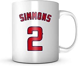 Andrelton Simmons Mug - Los Angeles Baseball 11 oz Coffee Cup