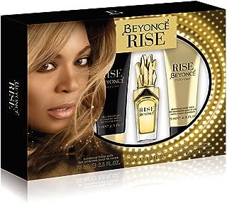 Beyonce Rise 3 Piece Gift Set (1.0 Ounce Eau De Parfum Plus 2.5 Ounce Shower Gel Plus 2.5 Ounce Body Lotion)