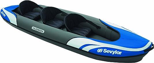 Sevylor Hudson Inflatable Kayak, Three Person - Blue