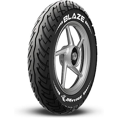 JK Tyre Blaze BA21 90/90 -12 Tubeless Bike Tyre, Rear