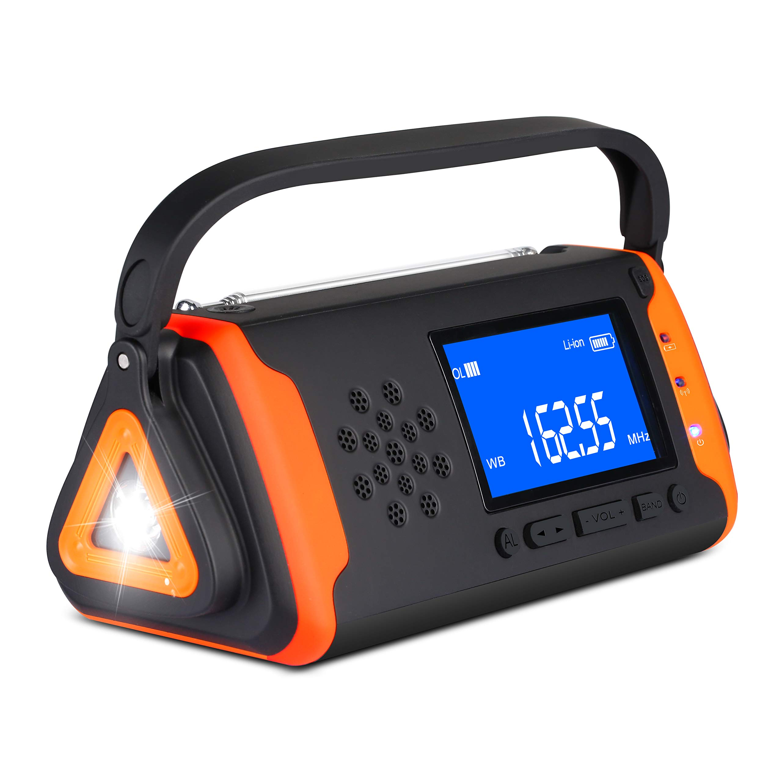 Emergency Weather Crank Radio 4000mAh