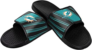 FOCO NFL Boys NFL Legacy Sport Shower Slide Flip Flop Sandals