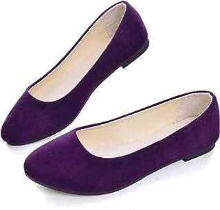 Flats - Purple / Flats / Shoes