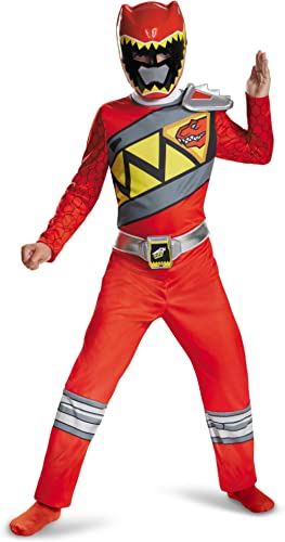 Disguise Red Ranger Dino Charge Classic Costume, Small (4-6)