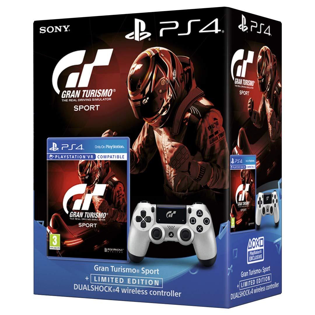 Sony Gran Turismo Sport, PS4 + DualShock 4 v2 Básico PlayStation 4 vídeo - Juego (PS4 + DualShock 4 v2, PlayStation 4, Racing, Modo multijugador, E (para todos)): Amazon.es: Videojuegos