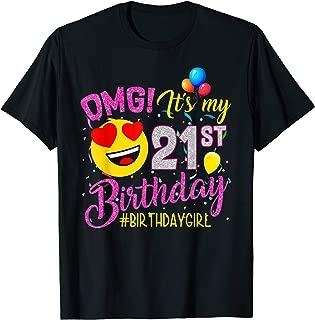 Best 21st birthday girl shirt Reviews