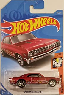 Hot Wheels 2019 Mainline Muscle Mania 157/250 - '67 Chevelle SS 396 [Int. カード]