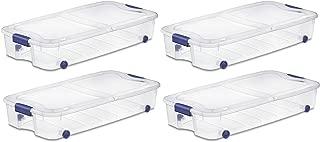 Sterilite, 66 Qt./62 L Ultra Storage Box, Case of 4