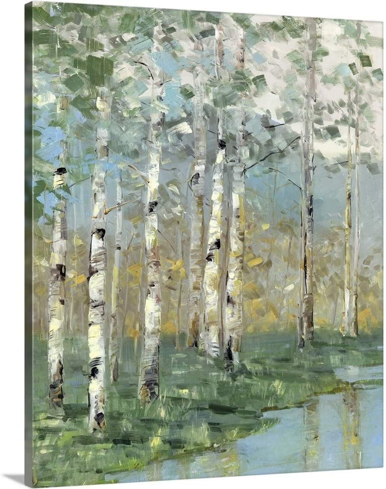 GREATBIGCANVAS 2021new shipping free Birch Reflections I Canvas Print Home Art D Wall Cheap mail order sales