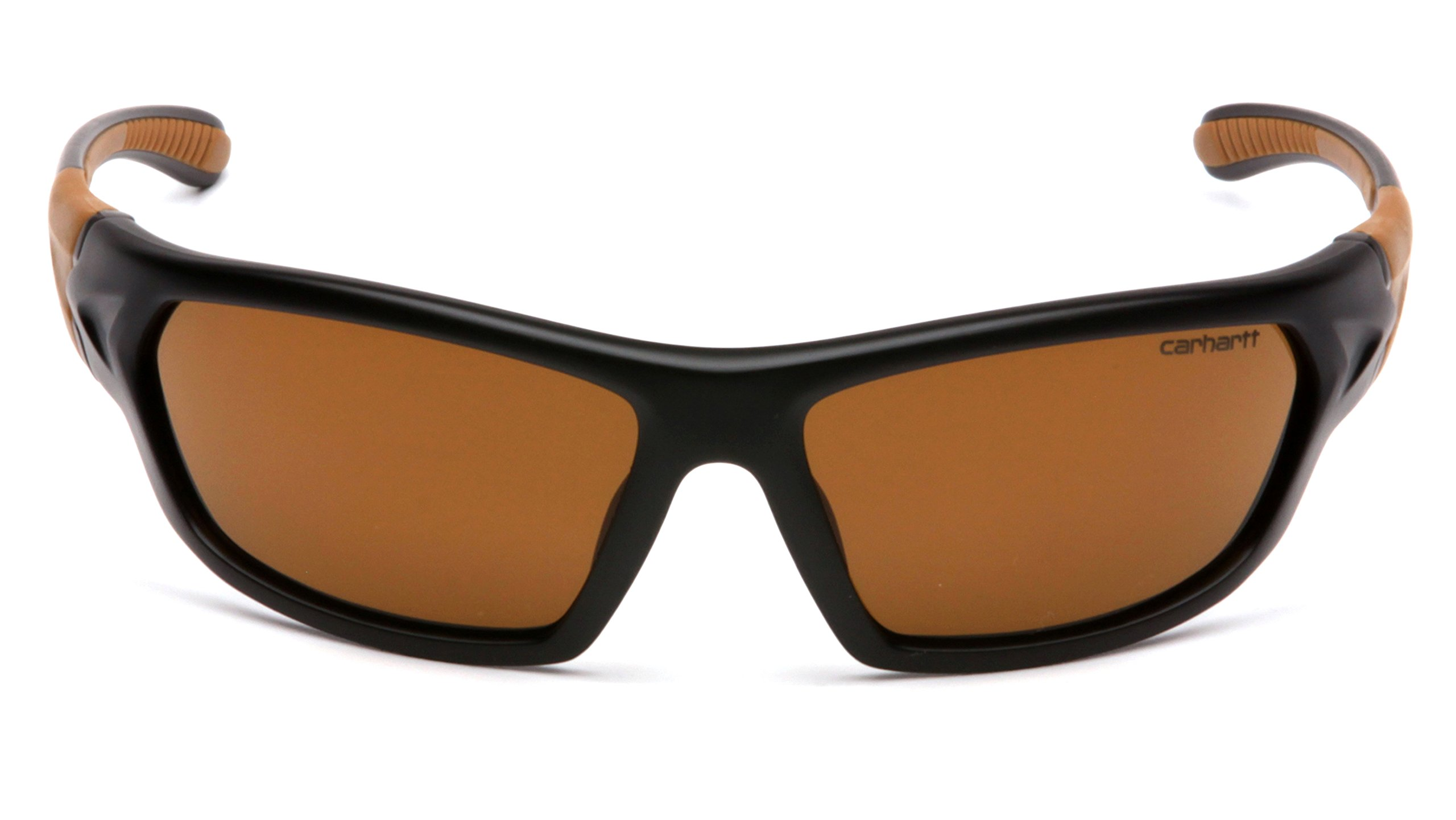 Carhartt Carbondale Safety Sunglasses with Sandstone Bronze Lens Black/tan