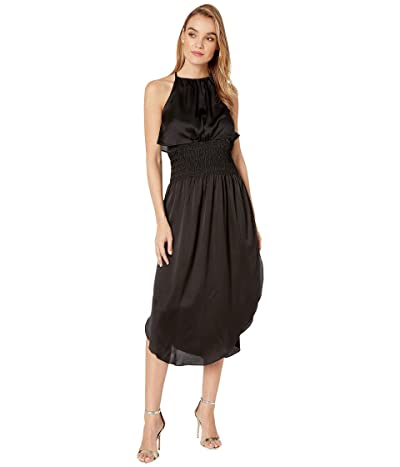 Bishop + Young Alessandra Smock Dress (Black) Women