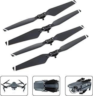 MIBOTE 2 Pairs/4 Pieces Quick-Release Folding Propellers for DJI Mavic Pro
