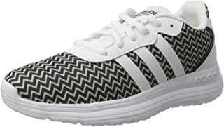 adidas Neo Cloudfoam Speed Womens Running Trainers/Shoes - White and Black