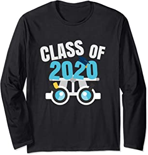 Future Optometrist Optometry Student Graduate Class Of 2020 Long Sleeve T-Shirt