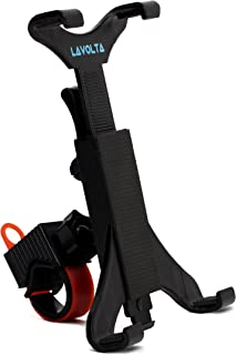 Lavolta Tablet iPad Holder Mount Stand for Treadmill Spinning Bike Trainer Elliptical Exercise Bicycle - Universal fit for 7-11 Inch Tablets iPad Pro Air Retina/Samsung Galaxy Tab Note