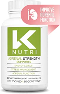 Adrenal Support Health Supplements, Adrenal Fatigue Supplements for Women and Men, Anxiety Supplements with L-Tyrosine, As...