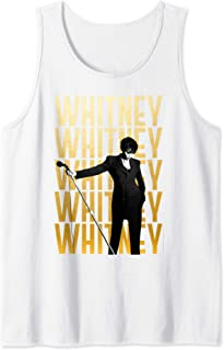 Whitney Houston Official Repeat Logo Tank Top