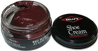saphir burgundy shoe cream