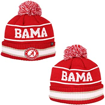One Size Victory Red Outerstuff Little Kids NCAA Infant Jacquard Cuffed Pom Hat