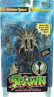 Vintage 1996 McFarlane Toys Exo-Skeleton Spawn Gray-Bone Deluxe Edition Action Figure
