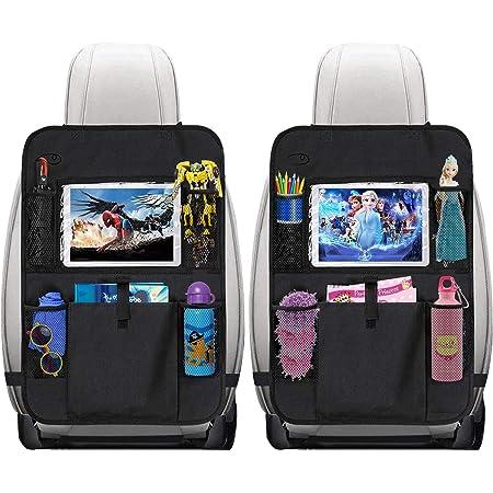 Autositzschoner Rückenlehne Kinder 2 Stk Rückenlehnenschutz Auto Kinder Sitzschoner Auto Rückenlehne 12 Zoll Ipad Kinder Auto Organizer Für Das Spielzeug Baby