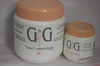 g and g lotion