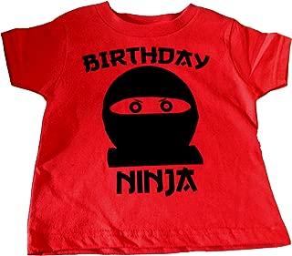 Custom Kingdom Boys Birthday Ninja T-Shirt
