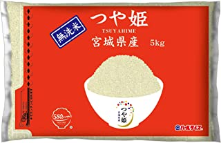 【精米】 [Amazon限定ブランド] 580.com 宮城県産 無洗米 つや姫 5kg 令和2年産