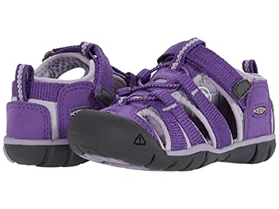 Keen Kids Seacamp II CNX (Toddler) (Royal Purple/Lavender Gray) Girls Shoes