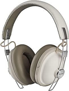 Panasonic RP-HTX90NE-W Retro Modern Style Headphone w Noise Cancellation, White