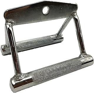 (ST TS)Tバーロウ Tバーロー シーテッドロー 用 ロウプーリーハンドル ケーブルアタッチメント ダブル ハンドル