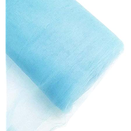 light Blue Tulle of high quality sold per meter Soft Pale Blue 11 color skirt tulle for veil width 3m dress