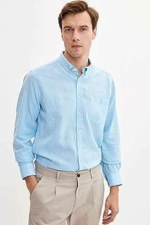 DeFacto Keten Modern Fit Gömlek