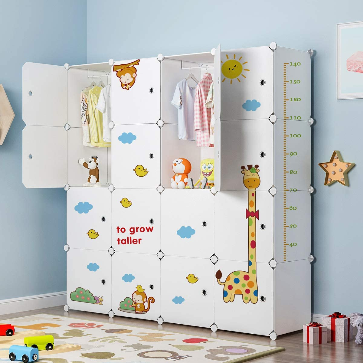 MAGINELS Indefinitely Large Closet Wardrobe Dresser Plastic Challenge the lowest price of Japan ☆ Cube Organizer Mo