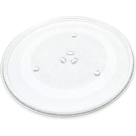 OEM Samsung Microwave Glass Plate Turntable Shipped with ME18H704SFS, ME18H704SFS/A2, ME18H704SFS/AA, ME18H704SFS/AC