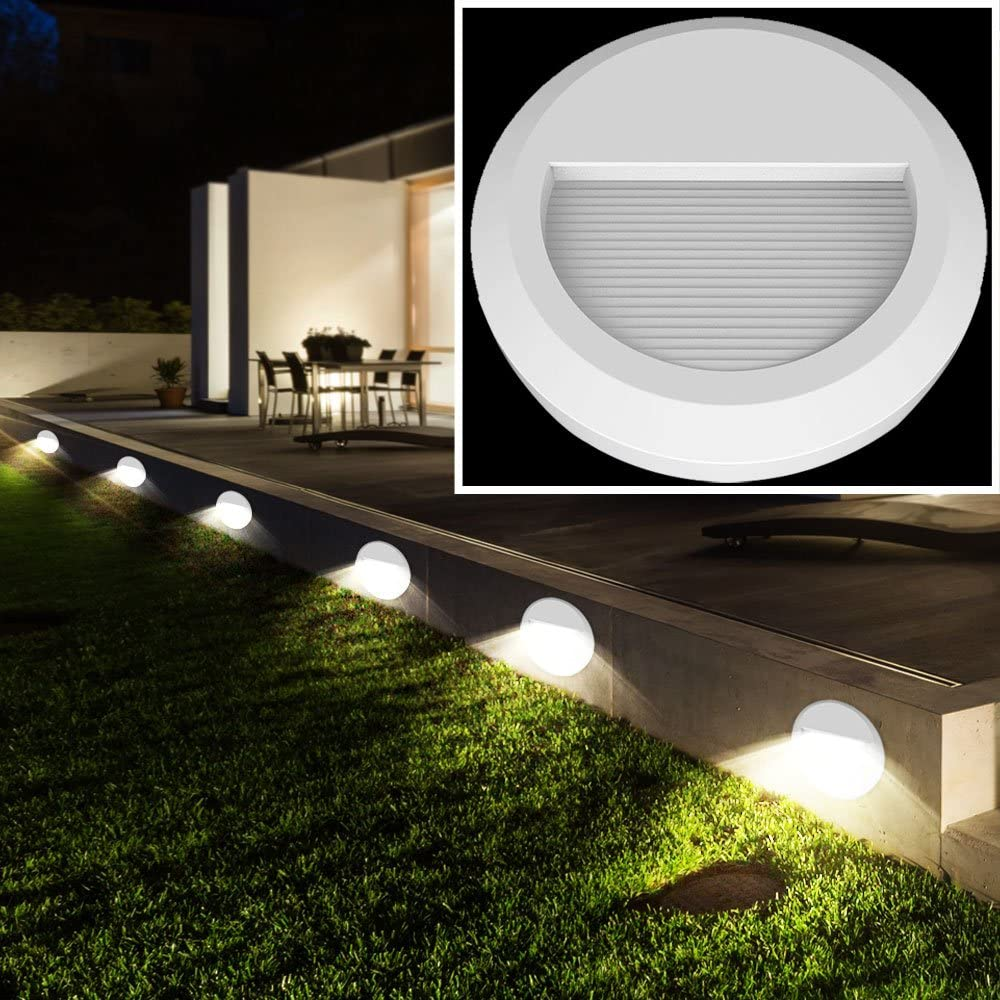 20er Set LED Außen Wand Leuchten Garten Treppen Stufen ...