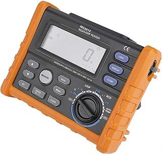 Testador de interruptor de vazamento, medidor de resistência digital RCD Loop Resistência Tester Multímetro com USB 2.0, i...