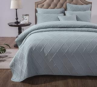Best solid green bedspread Reviews