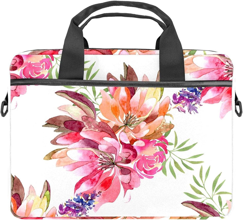 Laptop Bag 13.4-14.5 Elegant Inch Shoulder Messenger Briefcase Computer High material